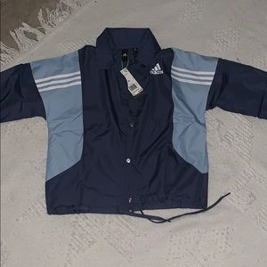 Addidas coach jacket